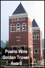 Poerio Wins Golden Trowel Award